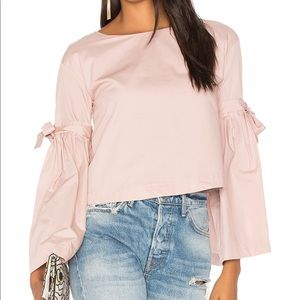 Free People So Obviously Yours Bell Sleeve Top